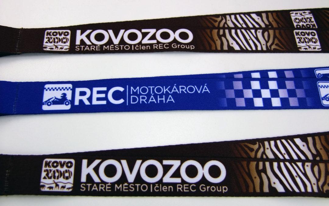 Lanyardy Kovozoo a REC group
