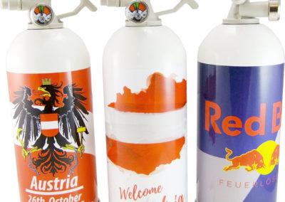 reklamní hasicí přístroje